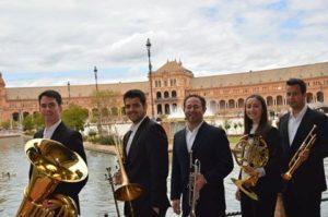 Abre el 'Albéniz Brass Festival' de Isla Cristina con música de viento y metal