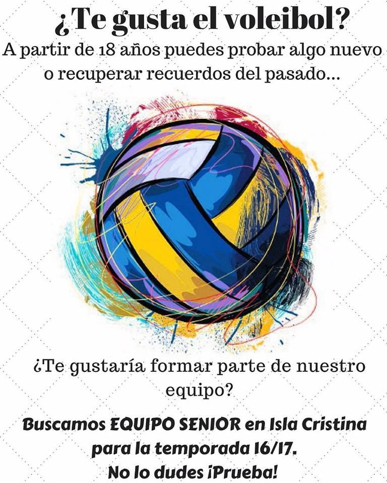 Te apuntas al Voleibol Isla Cristina Vic – Sénior