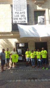 Compañerismo entre los afectados por el ERE de Isla Cristina, Jerez de la Frontera y Estepona