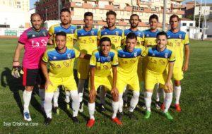 Debut en liga del Isla Cristina en Casa