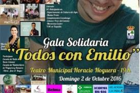 Isla Cristina acoge la Gala solidaria ¡¡Todos con Emilio!!