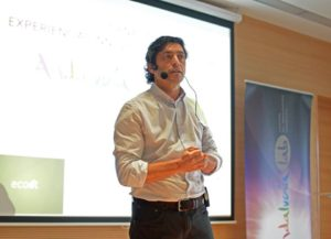 Antonio Aguilera Nieves en los Martes Culturales de Isla Cristina