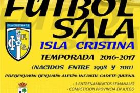 Inscríbete en la Escuela de Futbol Sala Isla Cristina