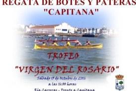 Isla Cristina acoge el Trofeo Virgen del Rosario de Botes y Pateras