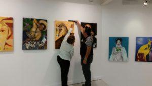 La muestra 'México y España, unidos por eI arte' se inaugura este martes en la Universidad de Huelva