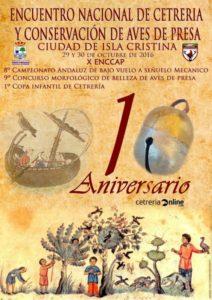 X Encuentro Nacional de Cetrería, 29/30 de octubre en Isla Cristina