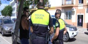 Herido policía local de Isla Cristina en un ejercicio de tiro