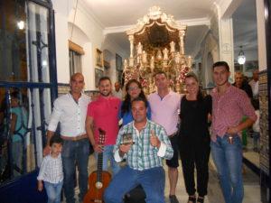 Francisco José Sequera cantó la salve de la Hermandad del Rocío de Isla Cristina