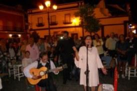 Loli Garrido canta la Salve en Isla Cristina