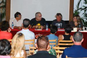 Presentación doble de libros en «Poesía en El Patio» de Isla Cristina