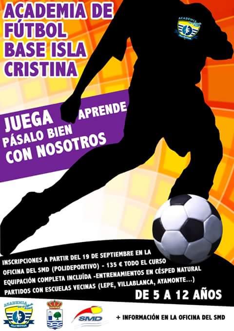 En Marcha la Academia de Fútbol Base Isla Cristina