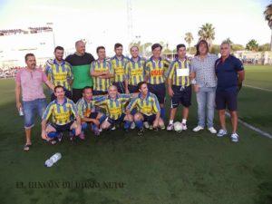 Fiesta del futbol solidario en Isla Cristina