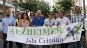 La IV Marcha contra el Alzheimer recorre Isla Cristina