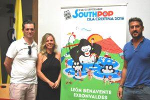 Más de 1.500 jóvenes se darán cita en el South Pop 2016 de este fin de semana en Isla Cristina