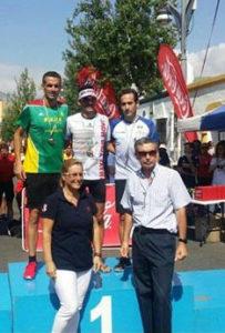 José Luis Ferrer sube al podio en la media maratón de Andalucía