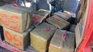 Detenido por el alijo de 540 kilos de hachís en ría de Isla Cristina