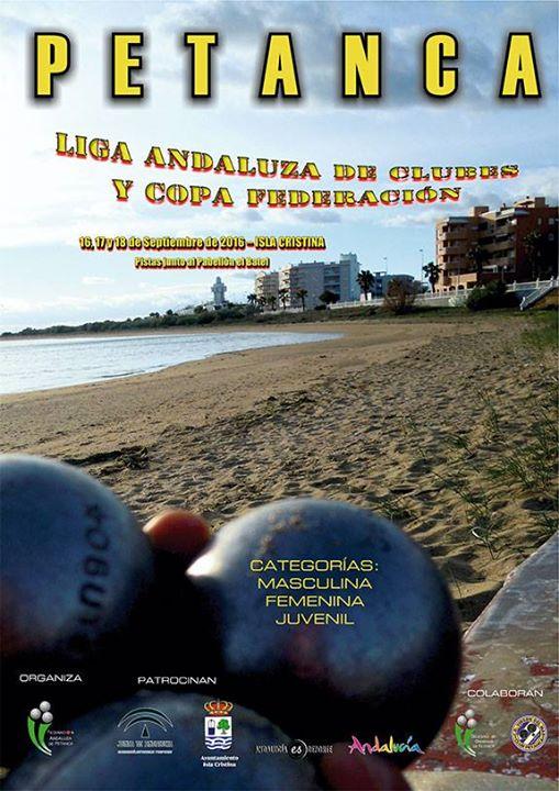Liga Andaluza de Clubes y Copa Federación de Petanca, este fin de semana en Isla Cristina
