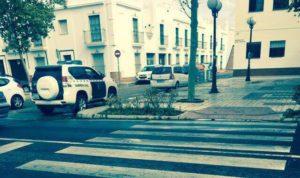 Atropellada una mujer en un paso de peatones de Isla Cristina