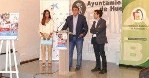 Presentado el #PLAZA3X3CAIXABANK del domingo 2 de octubre en Huelva