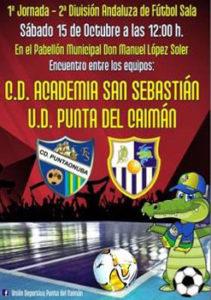 Arranca la temporada de fútbol sala para los juveniles de la UD Punta del Caimán