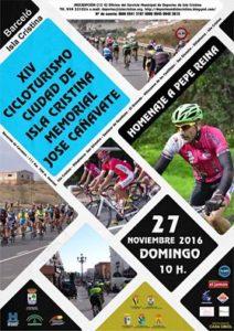 Aplazada la XIV Cicloturística Ciudad de Isla Cristina para el  27 de Noviembre