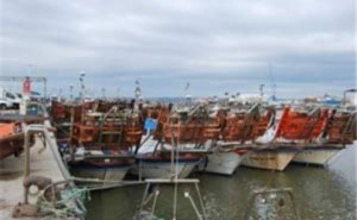 Los barcos de la chirla de Isla Cristina estarán ocho meses parados por el cierre del caladero