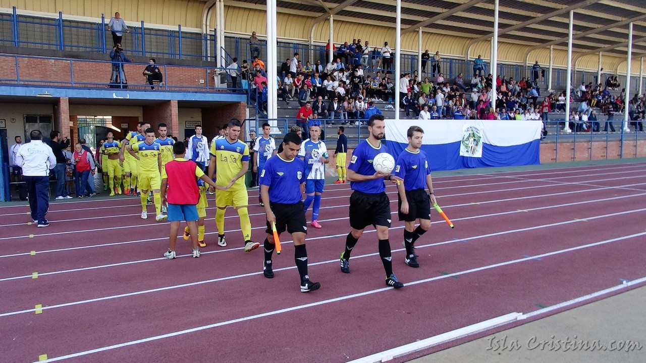 Imágenes derbi, Isla Cristina FC (vs) UD Punta del Caimán