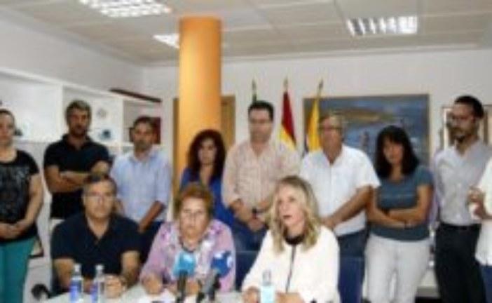 El Equipo de Gobierno isleño ofrece una rueda de prensa sobre la Sentencia del ERE que da la razón al Ayuntamiento
