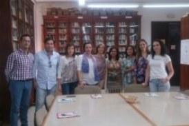 La Biblioteca isleña, presente en Calañas en una jornada formativa