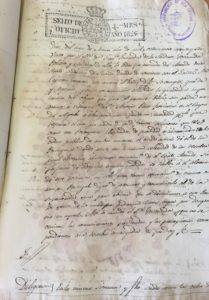 Archivo Municipal de Isla Cristina. Fallece en Lisboa envenenado Juan VI, Rey de Portugal