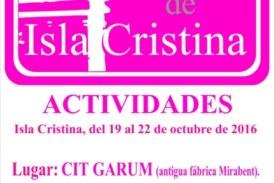 Programación de las VI Jornadas de Historia 'Ciudad de Isla Cristina'