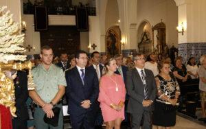 La Misa y la Procesión de la Virgen marcan el ecuador de las Fiestas del Rosario en Isla Cristina