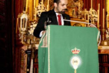 El joven isleño Manuel González Exalta a la Virgen del Rosario