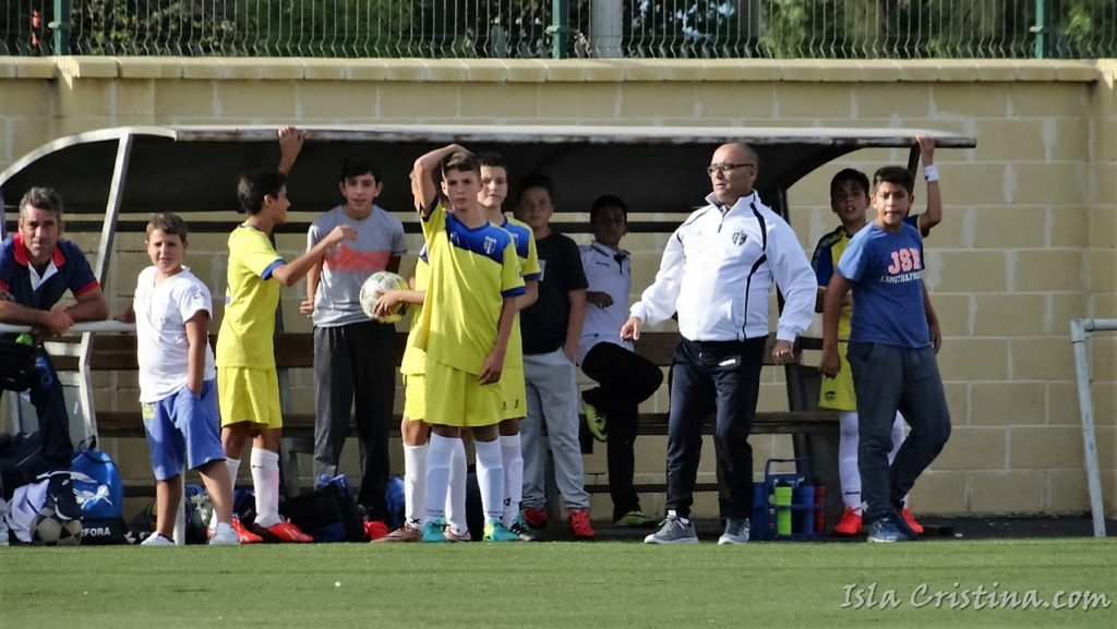 Partido fin de semana cantera Isla Cristina FC.