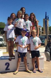 Los Clubes y Triatletas Onubenses Destacan en el Triatlón Andaluz de Menores