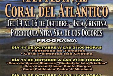 Isla Cristina acoge desde este viernes el XXX Festival Coral del Atlántico