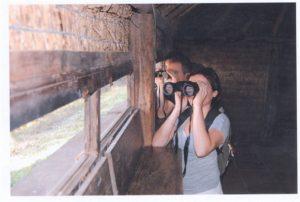 En las Marismas del Isla Cristina se desarrolló un Safari fotográfico juvenil y un taller de identificación de aves