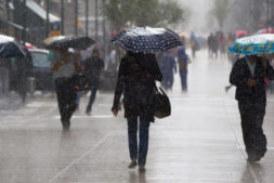 Alerta amarilla por fuertes lluvias en Huelva