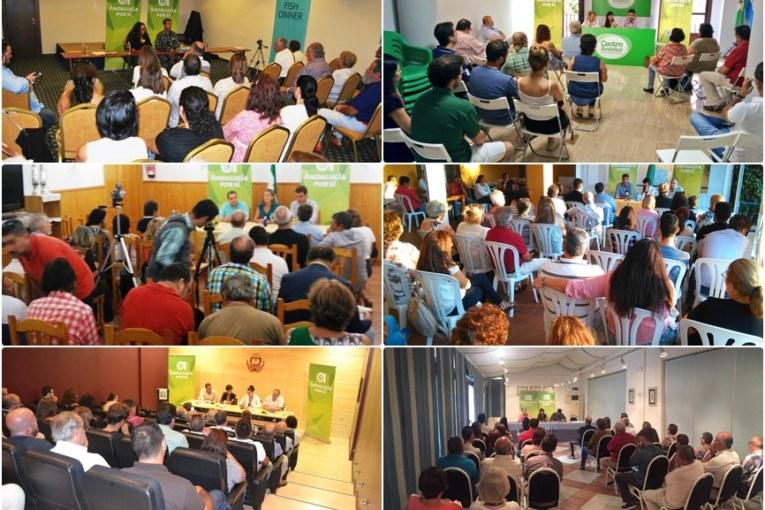 AxSí alcanza ya 327 inscripciones para el Congreso Constituyente de la nueva fuerza política andaluza
