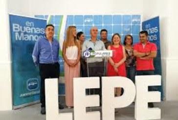 El PP de Lepe denuncia la falta de respeto institucional de la Junta y del PSOE local