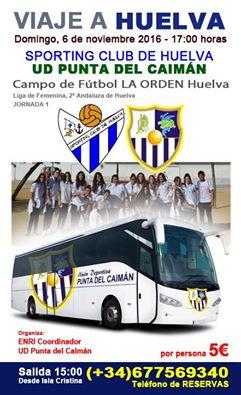 Debut en liga de la UD Punta del Caimán femenino