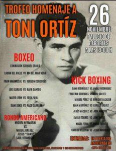 Daniel Gálvez y Daniel Rodríguez participarán en el Trofeo Homenaje a Toni Ortiz