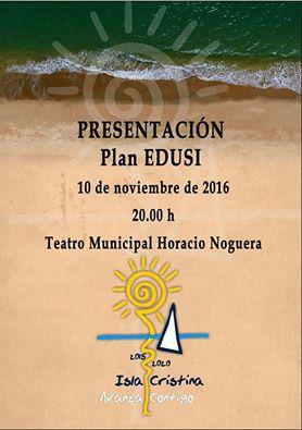 Presentación en Isla Cristina del Plan EDUSI