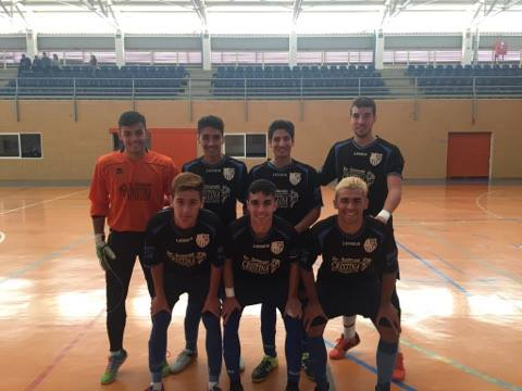 El juvenil de fútbol sala de la UD Punta del Caimán sigue en racha