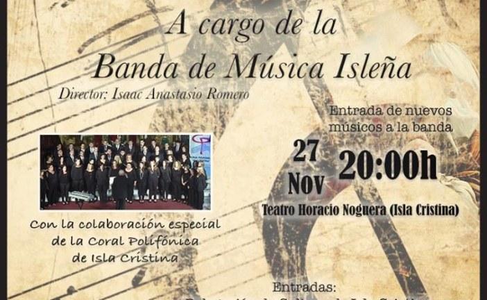 Concierto en Honor a Santa Cecilia en Isla Cristina