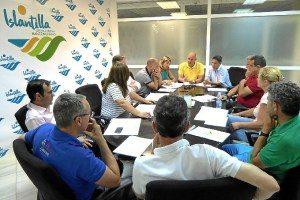 Islantilla aborda la activación del Plan Especial de cara a la próxima temporada estival de 2017