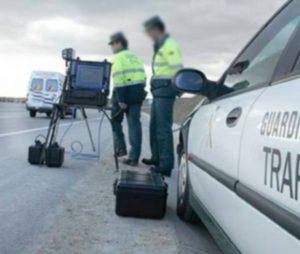 La Guardia Civil desvela a la velocidad exacta a la que saltan los radares