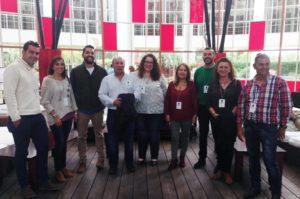 Andalucistas de Isla Cristina en la fundación de Andalucía por Sí