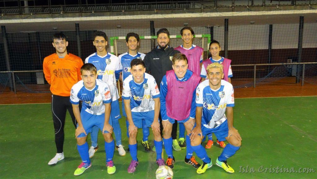 La Punta juvenil de fútbol sala gana un partido de infarto ante el Cala F.S.