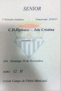 El líder Isla Cristina, a por los puntos en juego de Niebla